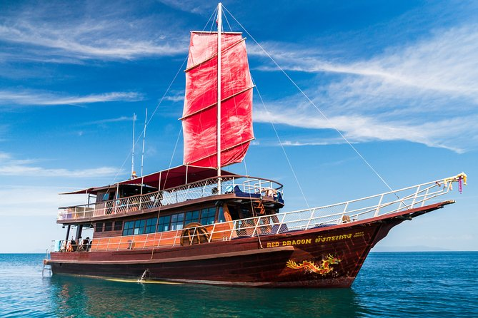 Private Half-Day Red Dragon Yacht for Snorkeling Koh Tan & Visit Pig Island