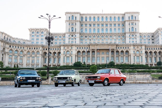 RedPatrol Communist Driving Tour of Bucharest with Dacia