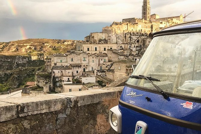 Private Panoramic Tour with Piaggio Ape Calessino in Matera
