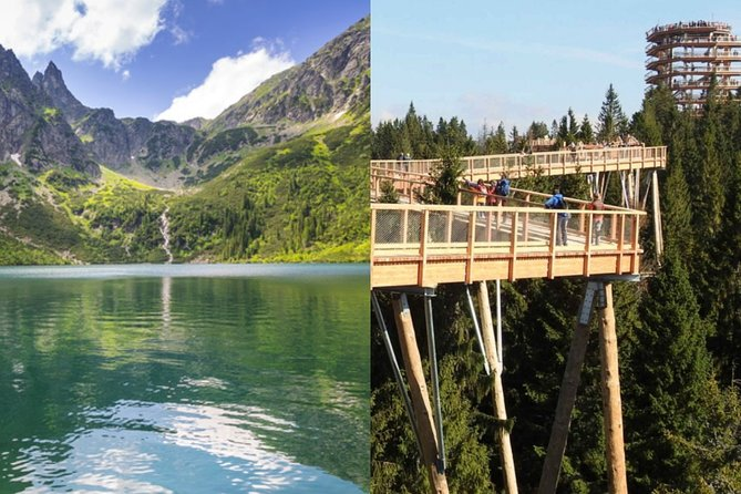 From Krakow: Morskie Oko in the Tatra Mountains and Slovakia Treetop Walk