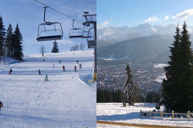From Kraków: Skiing and Zakopane Tour Experience