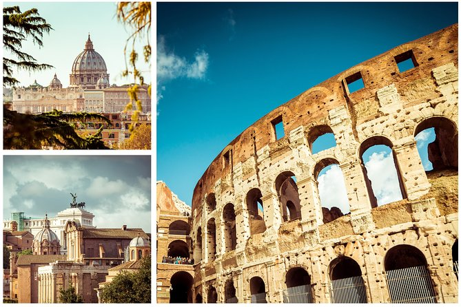 Rome Private Tour with Colosseum and Vatican Museums Tour Guide and Tickets