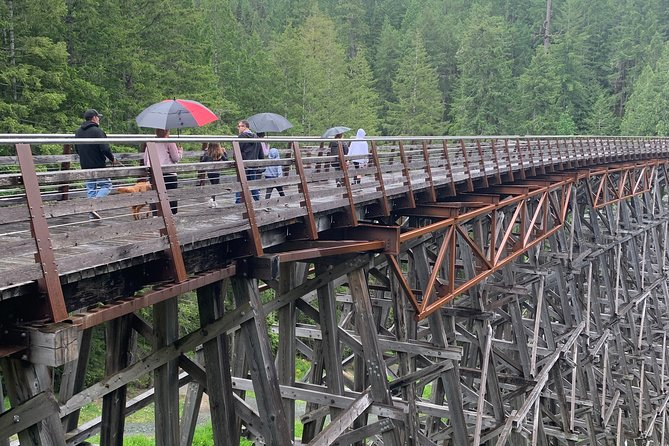 Cycle the old rail trails & Wine & Food- COWICHAN- NO HILLS, NO CARS Let's go!