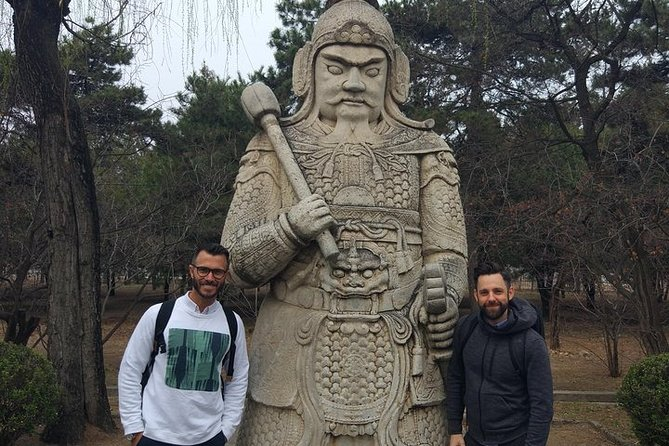 Private Day Tour to Ming Emperor's Tombs Ding Tomb, Sacred Path & Chang Tomb