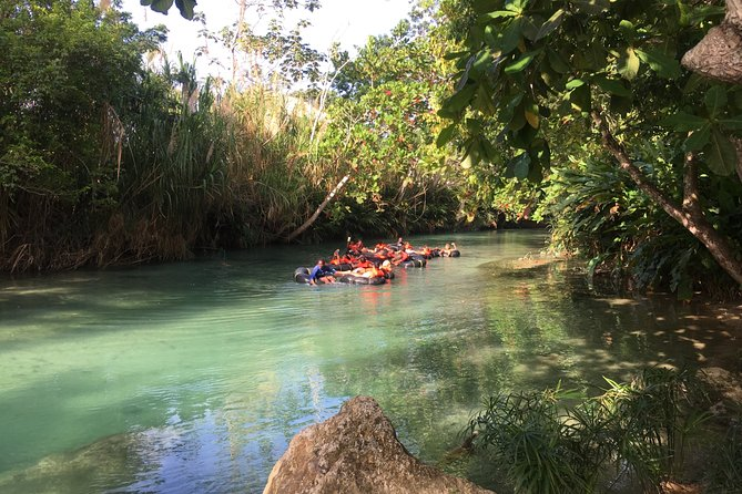 Private River Tubing Adventure in White River from Ocho Rios