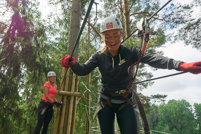 Forest Fun: Treetop Adventure Experience in Espoo