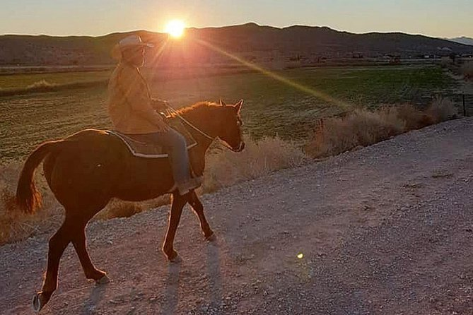 Wild West Sunset Horseback Ride with Dinner from Las Vegas photo 5