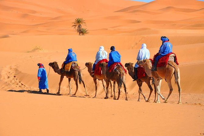 3-Day Private Tour to Merzouga from Marrakech with Camel Ride