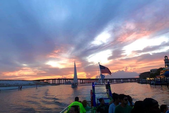 Sunset over the Gulf of Mexico Tour in Destin