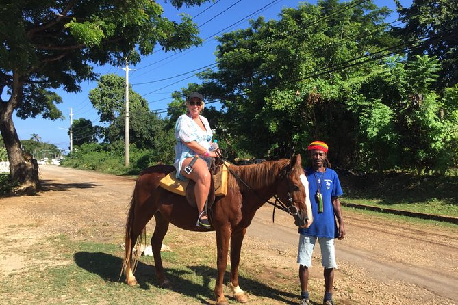 Horse Back Ride and Swim Adventure from Ocho Rios, Transportation ONLY