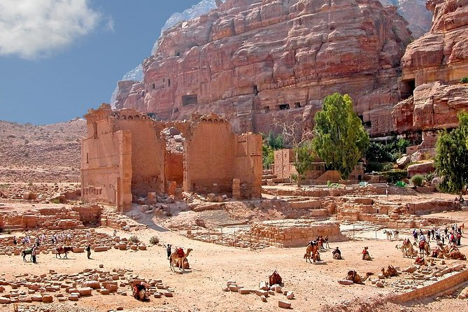 Private shore excursion to Petra from Aqaba cruise port with pick up & drop off