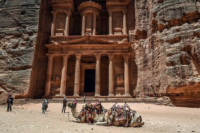 Private day trip to Petra from Amman with Hotel pick up