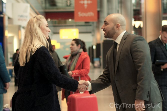 Executive Private London Arrival Transfer - Airport to Hotel / Accommodation