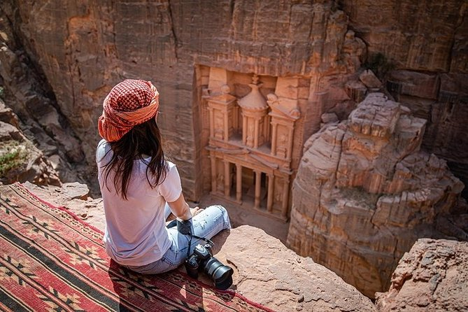 Jordan Pass 2-Night Private Wonder Tour of Petra &Wadi Rum Overnight from Amman
