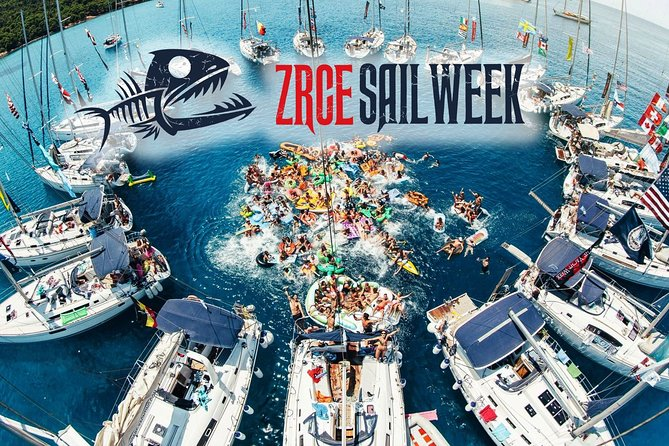ZRCE SAIL WEEK: Party vacation on a sailboat on the Zrce beach in Croatia!
