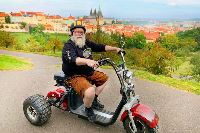 Amazing trike tour Prague