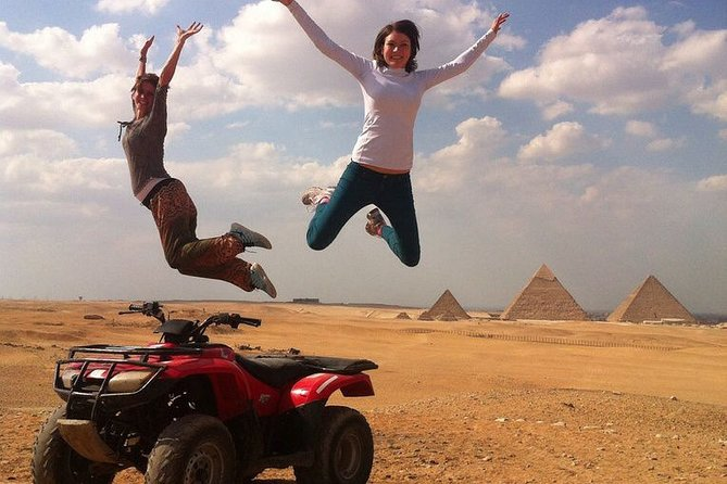 Desert Safari by Quad Bike at Giza Pyramids