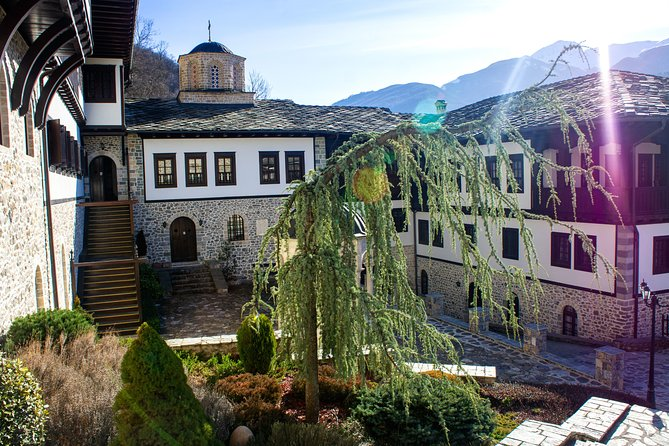 Bigorski Monastery and home-hosted lunch in Janche village from Ohrid