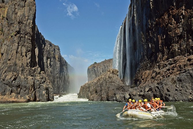 White Water Rafting in Zambezi River with Lunch