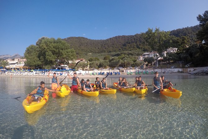Morning Sea Kayak Experience in Thasos