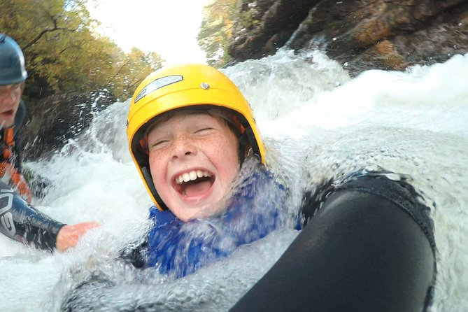 Gorge Scrambling in The Truim from Aviemore