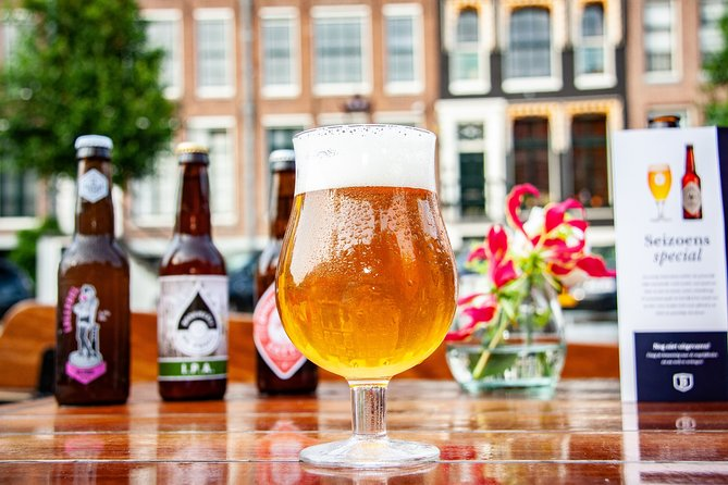 Craft Beer Boat Tour Experience in Amsterdam