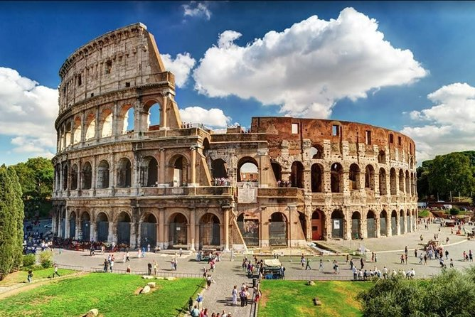 Rome Colosseum, Roman Forum and Palatine Hill Regular Entry