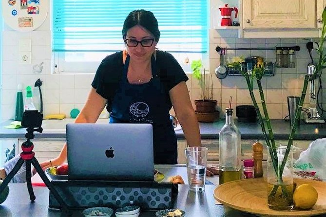 Online Cooking Class: The secret of making Greek Dips