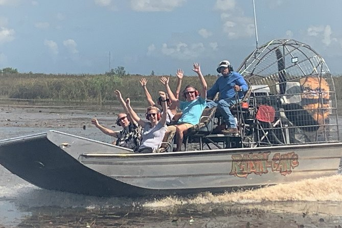 Private Airboat Rides closest to Ft Lauderdale / Boca Raton and West Palm Beach