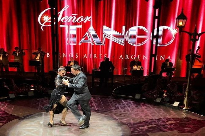 Señor Tango Show Ticket Including Optional Dinner in Buenos Aires