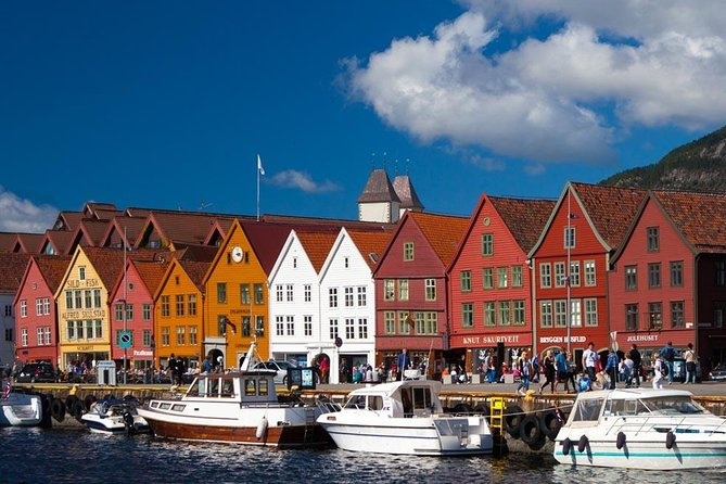 Bergen 3-in one Guided Tour - Fjord Cruise, City Sightseeing and Mount Fløyen