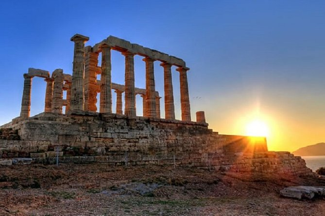 Sounion (Poseidon Temple) at Sunset - Private Half Day Tour