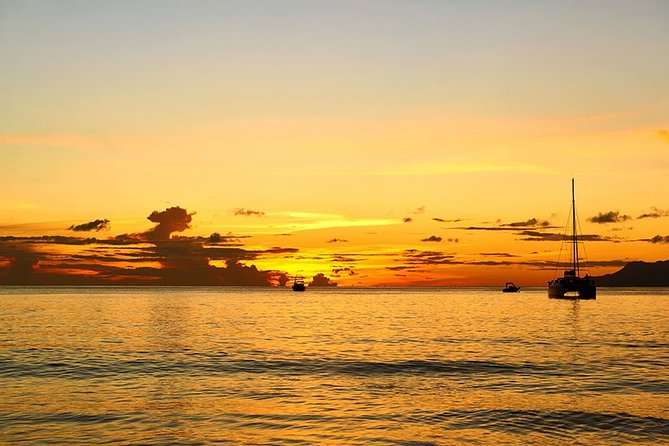 Private half day snorkeling and sunset cruise on the west coast of Mahe