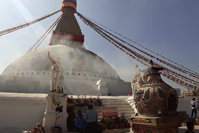 Private Short Hiking Trip to Syambhunath Stupa from Thamel