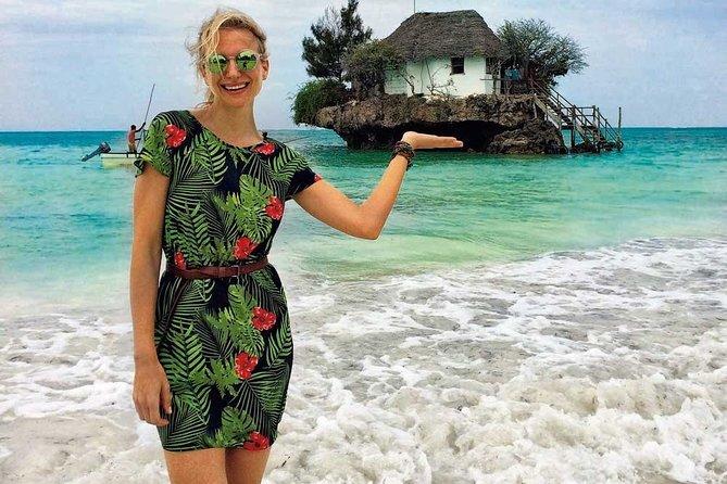 Zanzibar Snorkeling at Blue Lagoon; Starfish Tour & The Rock Restaurant