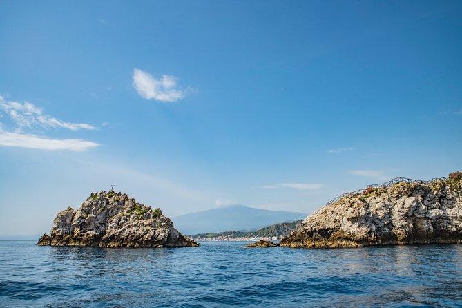 Half Day Boat Tour Taormina Coastline