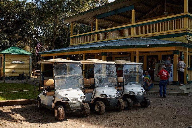 Hilton Head to Daufuskie Island Round-Trip Ferry with 4-Person Golf Cart Rental