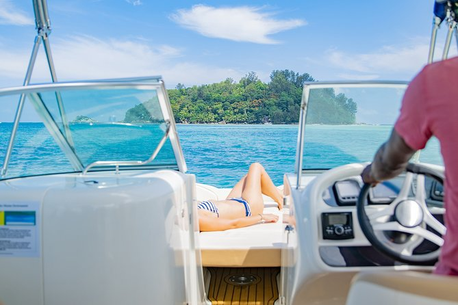 Private Boat Tour to Cousin and La Digue Islands