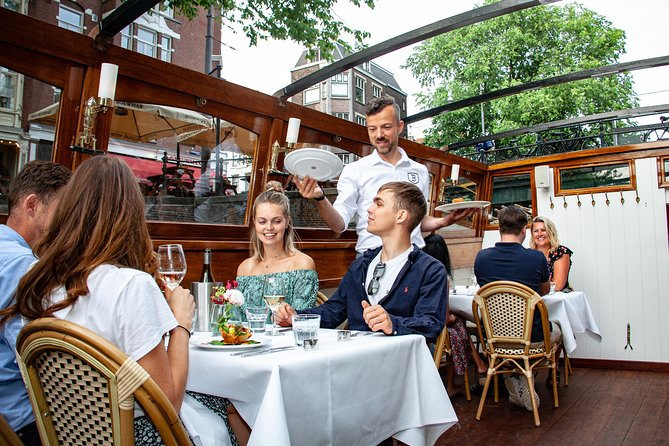 Luxury Dinner Cruise in Amsterdam