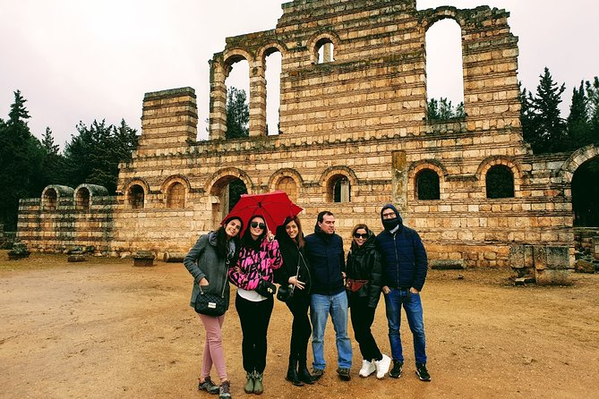 Sightseeing all-inclusive Small group Tour to Baalbek, Anjar and Ksara