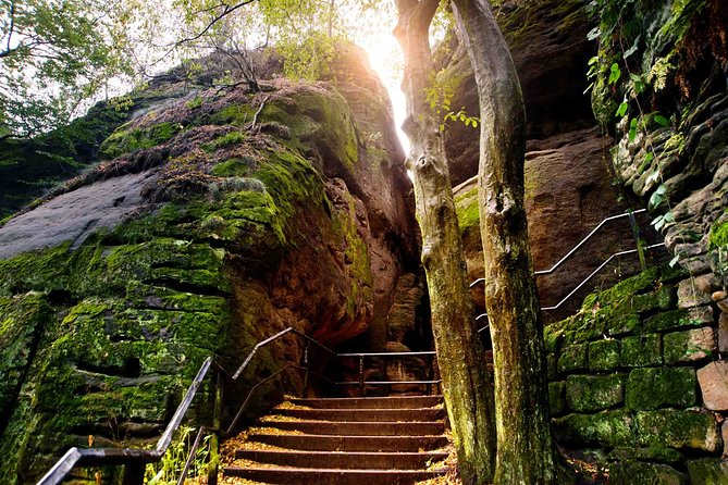 Full-Day Tour to Bohemian and Saxon Switzerland Park from Prague