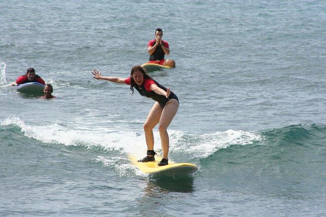 Surf Lesson in Sunny Po'ipu
