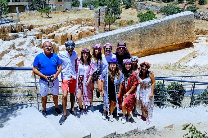 Sightseeing all-inclusive Private Tour to Jeita Grotto, Baalbek and Ksara