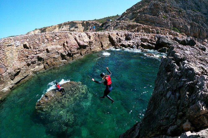 Half-Day Small-Group Coasteering Adventure with Snorkeling