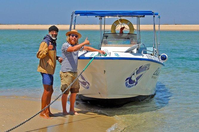 3-Hour Boat Tour in Ria Formosa on Olhão Algarve