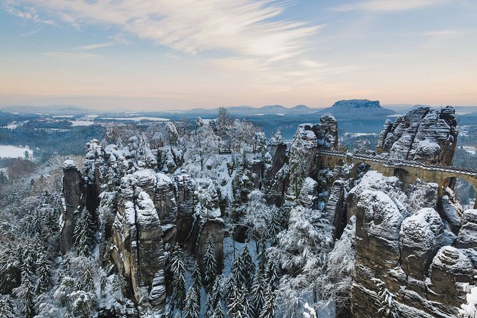 Winterland Tour to Bohemian and Saxon Switzerland from Prague