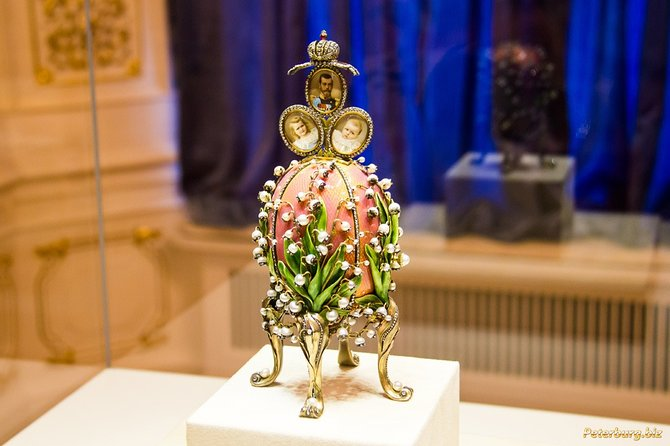 1-day shore excursion in St Petersburg: Peterhof and Faberge Museum