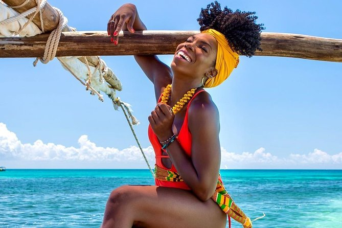 Departure from Kizimkazi, Zanzibar Safari Blue Tour,Kwale Island andSandbank