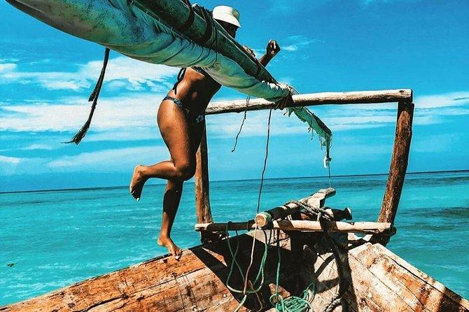 Zanzibar Safari Blue Tour; Kwale Island & Sandbank: Departure from Nungwi