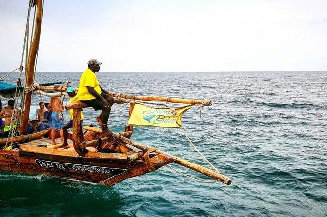 Zanzibar Safari Blue Tour; Kwale Island & Sandbank: Departure from Uroa Beach